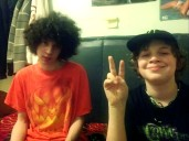 Lucas and Chris