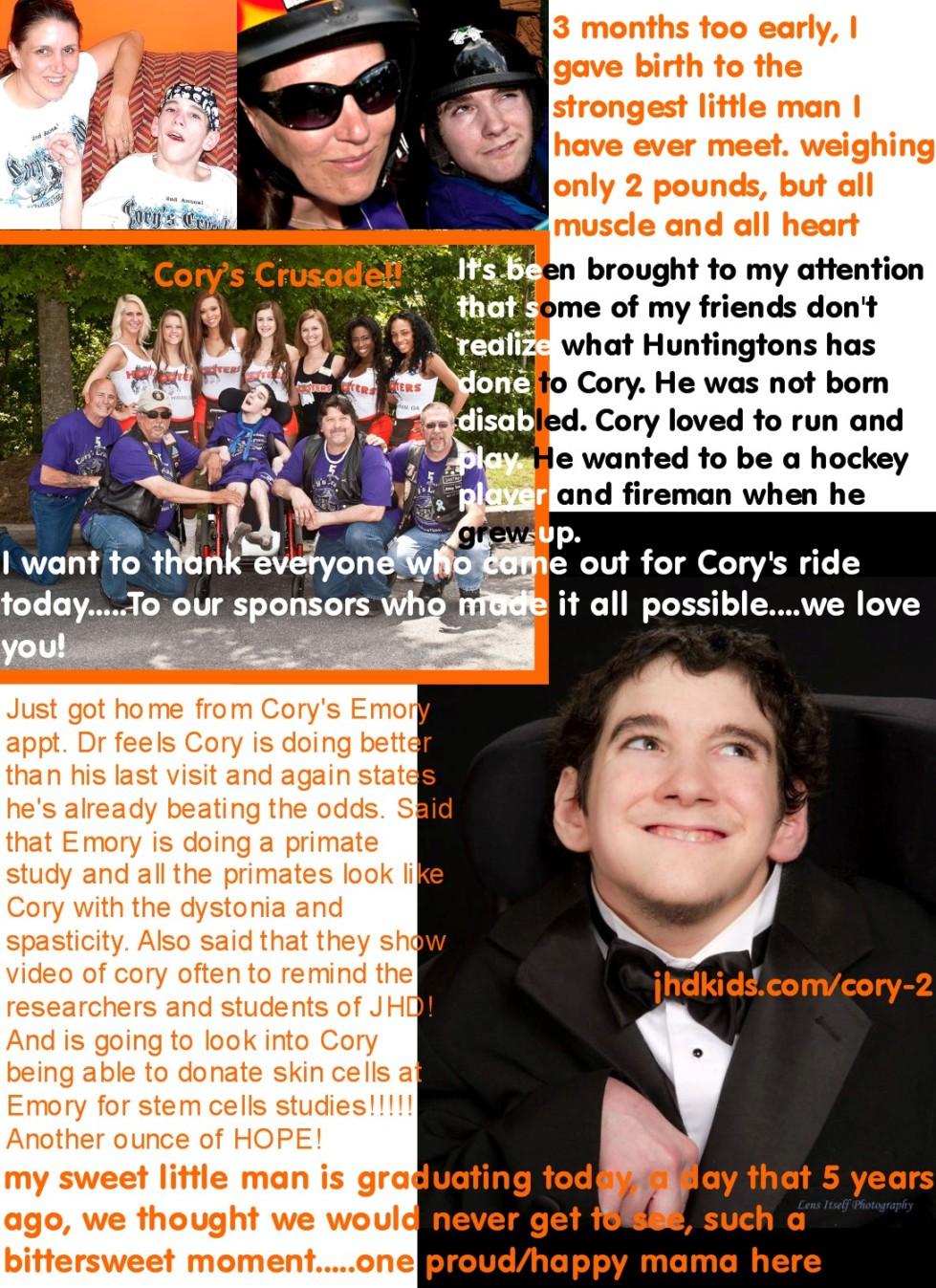 cory's crusade
