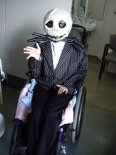 Keely as Jack Skellington, Oct 10_resize
