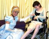 With Cinderella Rikki