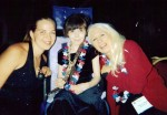 Karli at convention with Mindy and Nancy Wexler