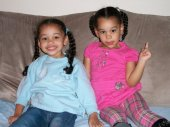 Khalia and Kiara