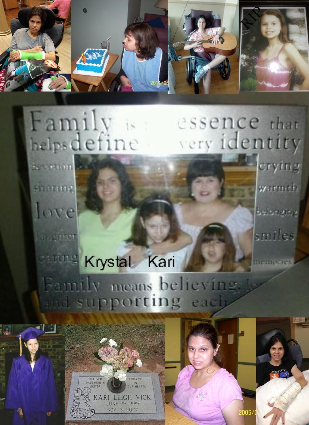 Krystal and Kari
