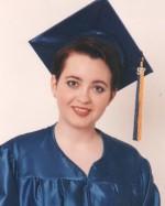 patricia high school graduation, Logan High, 1997.