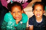 Anajee' on the left 5 and A'kirah on the right 3