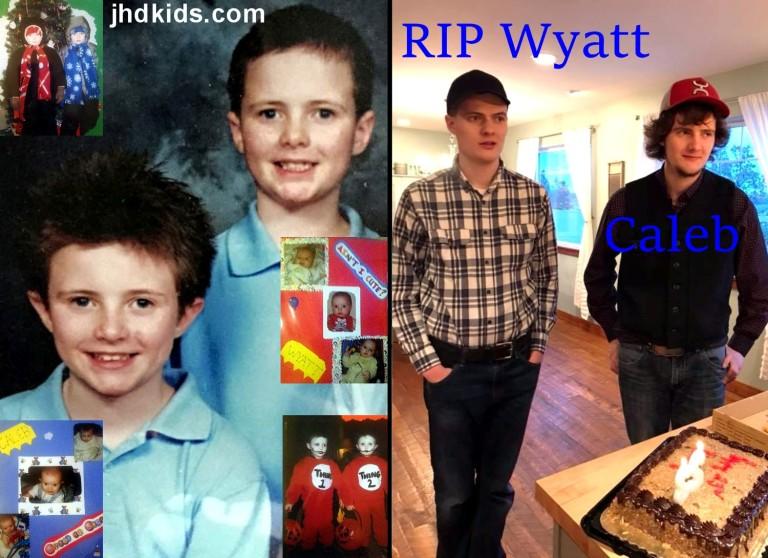 Caleb and Wyatt