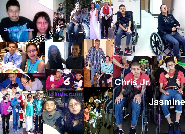 Chris Jr and Jasmine
