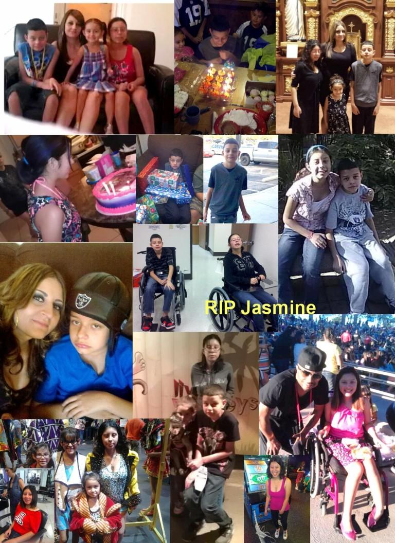 Chris Jr. and Jasmine